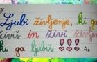Teden pisanja z roko – izdelki učencev